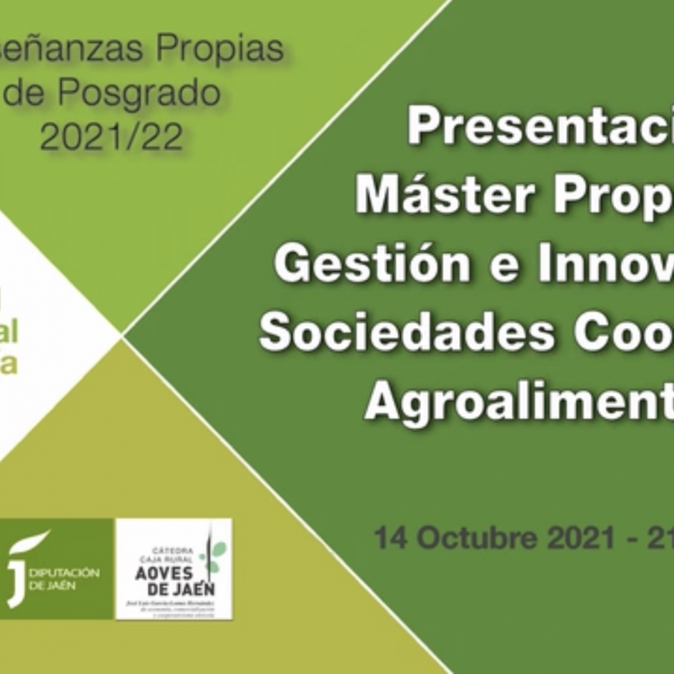 master unia gestion de cooperativas agroalimentarias